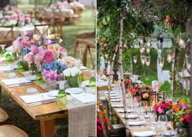 2-2-outdoor-wedding-in-the-garden-decoration-ideas-beautiful-decor-wooden-tables-flowers-birch-trees-candle-holders-lights