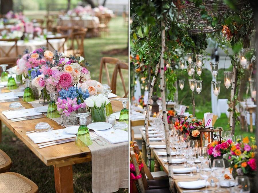 How to Decorate Outdoor Wedding: Original Ideas for Romantic Garden ...