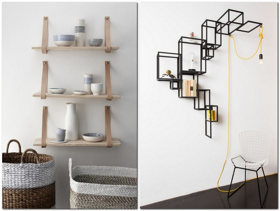 2-3-shelves-creative-shelving-units-light-wood-Scandinavian-style-black-metal-loft-style