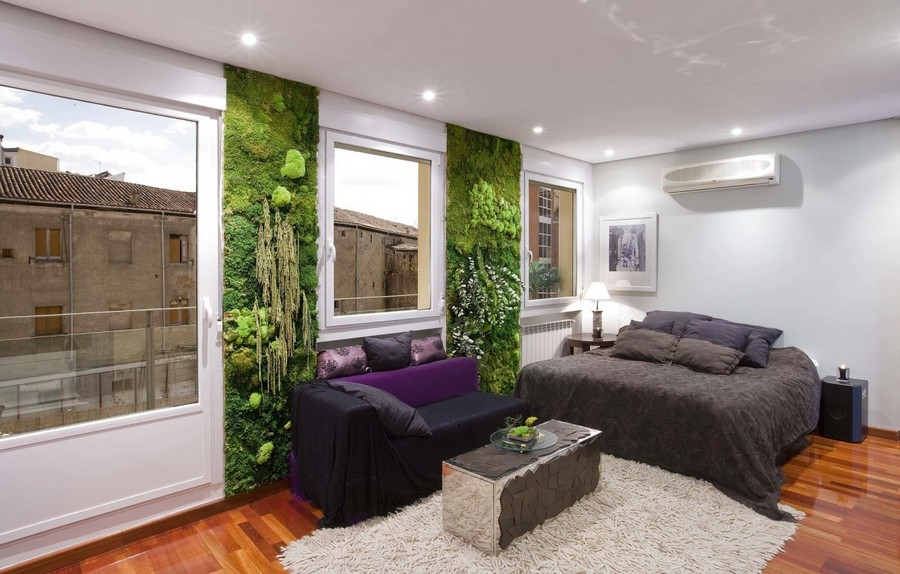 2 3 Stabilized Natural Living Moss In Interior