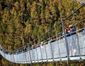 The World's Longest Pedestrian-Only Suspension Bridge Opened!