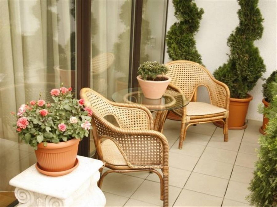 2-cozy-balcony-design-wicker-chairs-glass-coffee-table-flower-pot-trees-in-pots