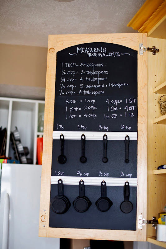 2-small-kitchen-storage-ideas-design-hacks-rational-space-chalkboard-for-recipes-inside-cabinet-door