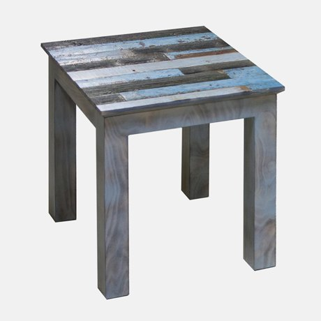 3-1-Elephant-Oldwood-coffee-Table-stool-from-reused-old-wood-multicolor-boards-blue-gray-black