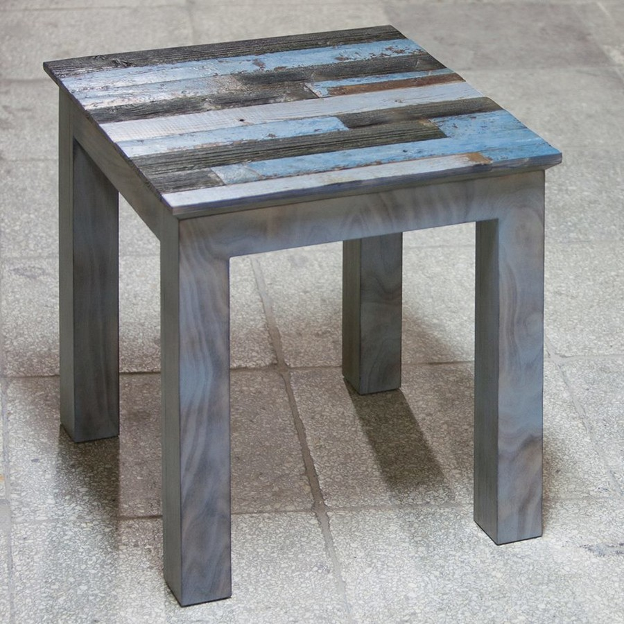3-2-Elephant-Oldwood-coffee-Table-stool-from-reused-old-wood-multicolor-boards-blue-gray-black
