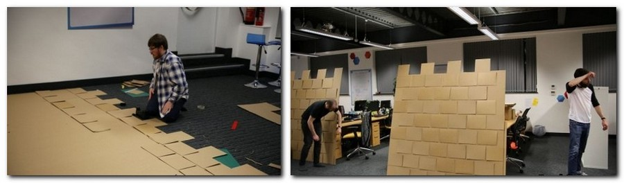 3-2-creative-office-interior-ideas-cardboard-castle-handmade