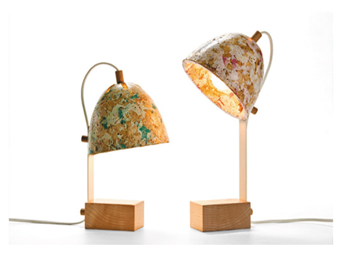 3-2-zero-waste-target-production-of-furniture-from-recycled-waste-Kulla-Israel-lamps-from-reused-plastic-bags-and-wood-chips