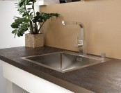 How to Treat Stone, Ceramic and Metal Worktops Properly