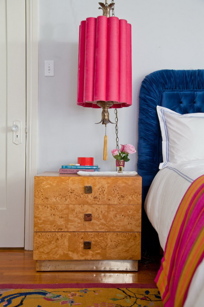 4-1-beautiful-stylish-nightstand-bedside-table-decor-flowers-books-vase-multicolor-interior-cork-drawers-pink-blue-headboard-in-bedroom-interior-design