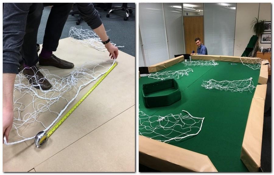 4-3-creative-office-interior-ideas-handmade-pool-billiards-table-for-leaf-blowers