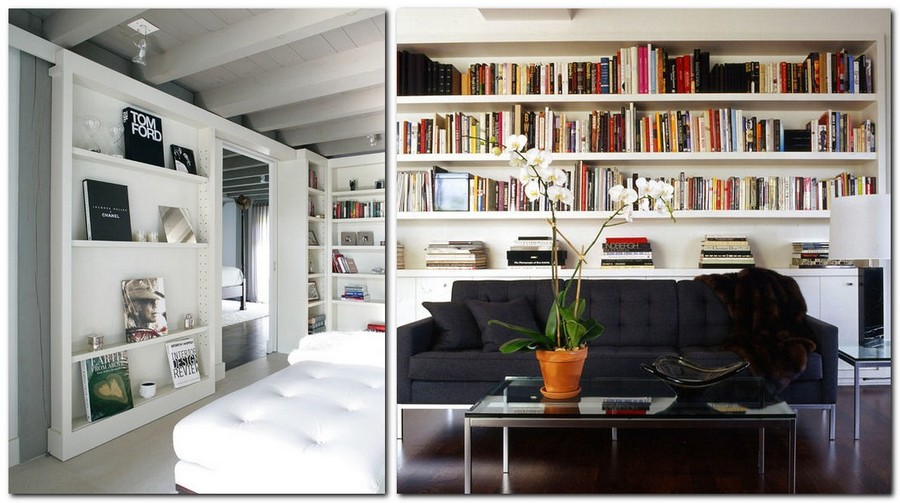 4-3-shelves-decoration-of-bookshelves-decor-ideas-home-library-white-walls-contemporary-style-large-format-editions-books-tom-ford-chanel