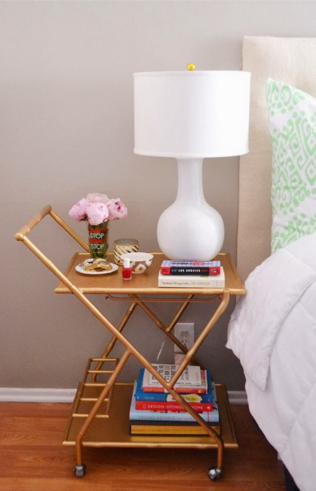 4-5-beautiful-stylish-nightstand-bedside-table-decor-flowers-books-vase-wheeled-service-trolley-nail-polish-in-bedroom-interior-design