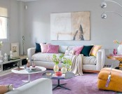 Lilac Grey Color in Interior Design: How to Use It Properly