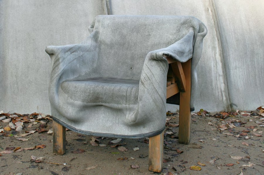 Cement Arm Chairs ~ Concrete canvas revolutionary building technology of the