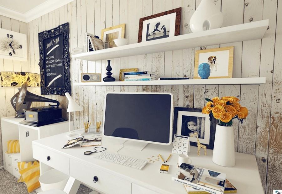 Design Hack: How to Organize an Inspiring Work Area | Home ...