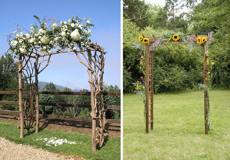How to Decorate Outdoor Wedding: Original Ideas for Romantic Garden | Home Interior Design ...