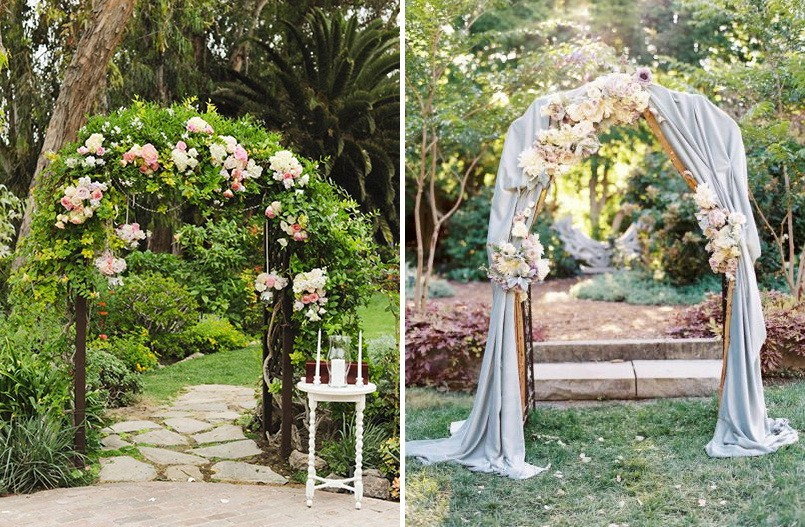 7-2-outdoor-wedding-in-the-garden-decoration-ideas-beautiful-decor-wedding-arch-drapery-flowers-living-creeping-plants