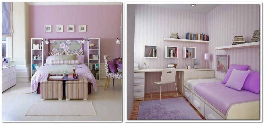 7-lilac-grey-color-in-interior-design-kid's-room-teenager's-bedroom-gray-purple-stripy-wallpaper