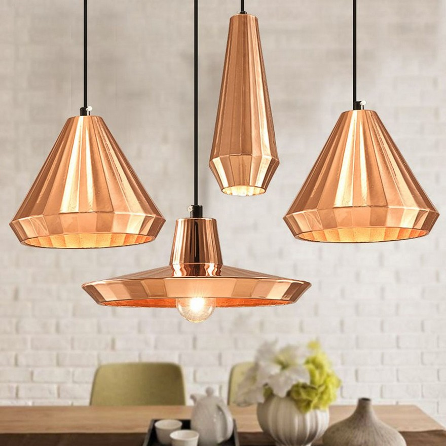 Great 0 Copper Dceor In Interior Design Kitchen Pendant