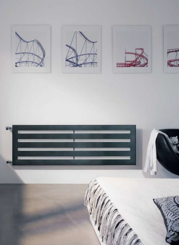 1-attractive-decorative-radiator-design-ideas-stylish-contemporary-style-modern-bedroom-interior-arm-chair-bed-wall-art