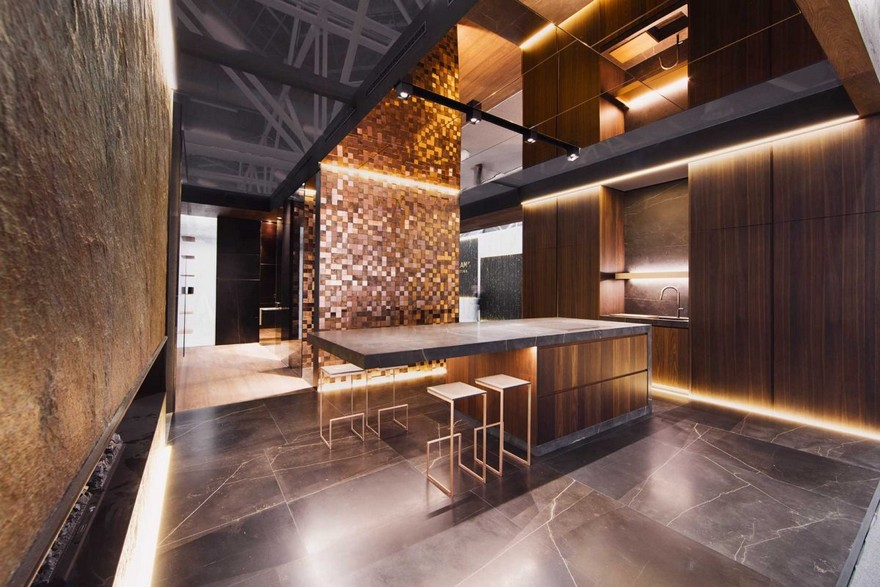 2-copper-in-interior-design-wall-covering-finishing-kitchen-wooden-cabinets-island-dark-brutal-loft-style-metal
