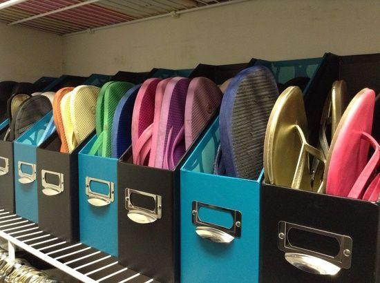 5-summer-shoes-slipper-storage-ideas-in-cardboard-desktop-paper-holders-organizers-folders