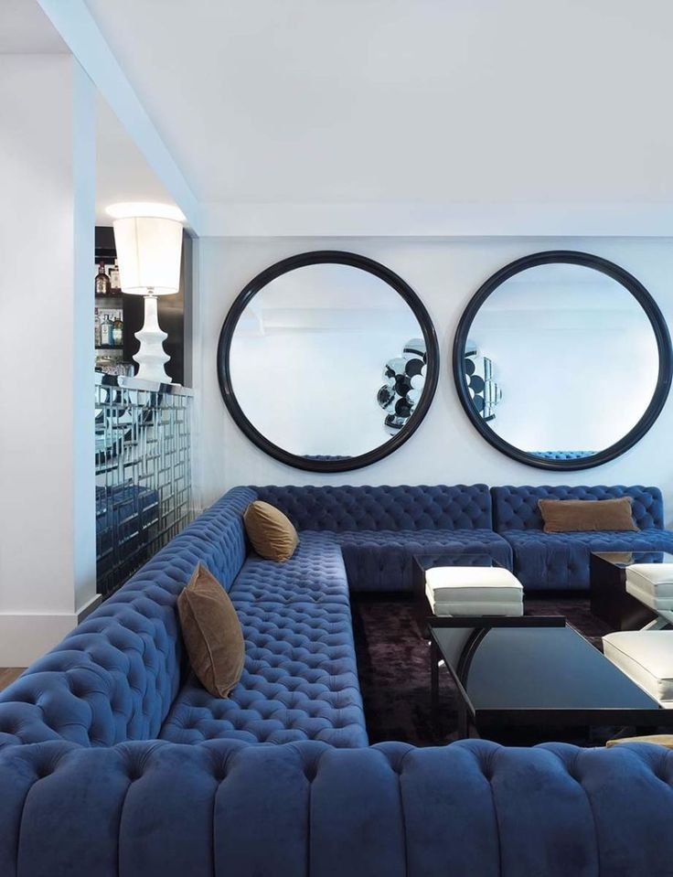 Big Round Mirrors In Interior Design 5 Golden Rules