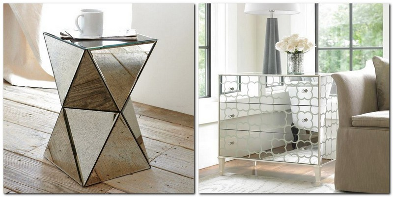 3-1-mirrored-furniture-in-interior-design-geometrical-coffee-table-chest-of-drawers