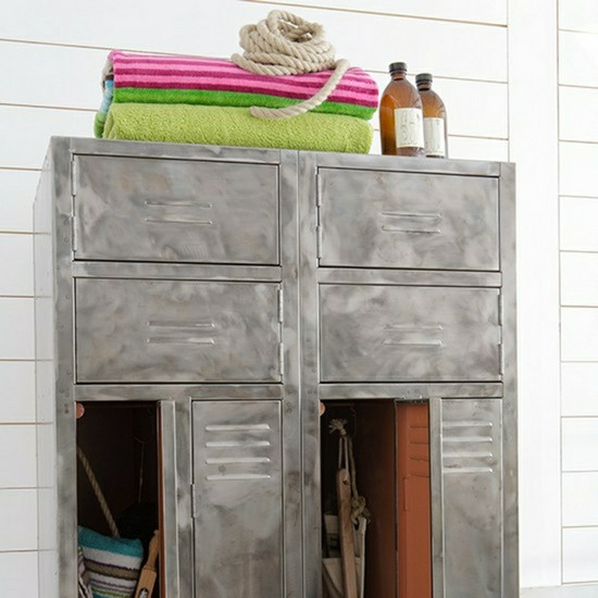 3-vintage-retro-style-bathroom-interior-cabinet-metal-drawers-storage-towels-white-walls