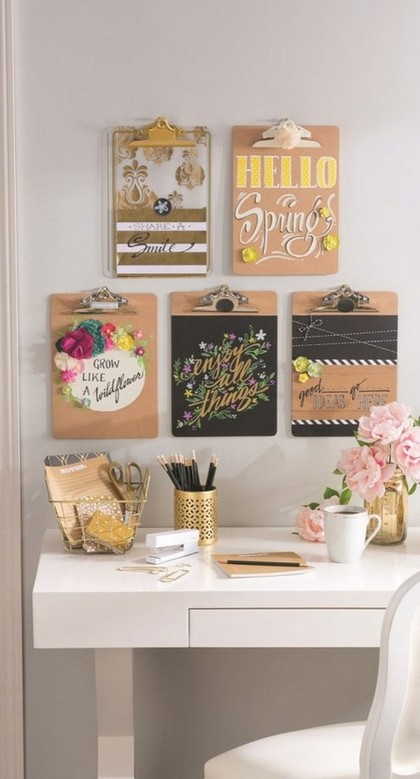 3-notice-note-memory-board-family-chore-organizer-idea-writing-desk-work-area-vintage-style-wooden-plates-bind-clips