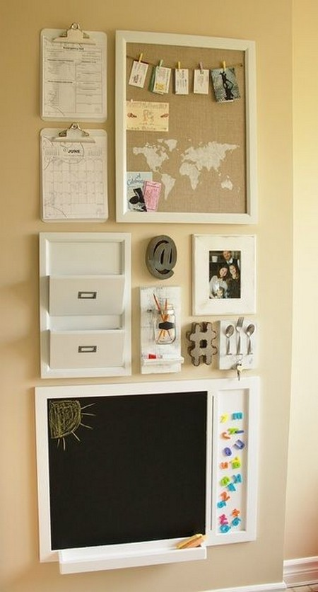 4-notice-note-memory-board-family-chore-organizer-idea-bind-clips-chalkboard-cork