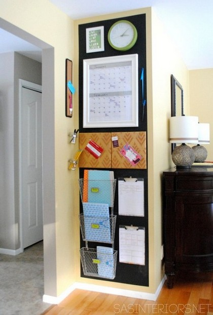 7-notice-note-memory-board-family-chore-organizer-idea-magnetic-chalkboard-wall-paint