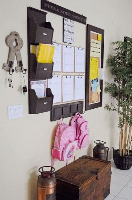 8-notice-note-memory-board-family-chore-organizer-idea-bind-clips-pockets-hallway