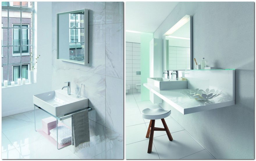 2-3-total-white-bathroom-collection-by-Duravit-minimalist-style-rectangular-mirrors-vanity-units-sink