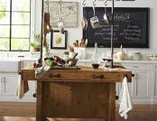 Carpenter's Workbench Turned Kitchen Island