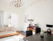 Super-Functional Apartment on 3 Levels: Kingsize Bed on the Top Level, Compact Kitchenette and Playr...