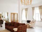 Open and Very Light Modern-and-Classic Apartment with a Garret Bed and a Studio Featuring a Ballet B...