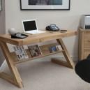 oak modern desk