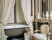 The bathroom in the French style
