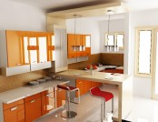 10 juicy and colorful kitchens