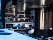 """""""Almost Loft"""" Apartment: Sober European Minimalism Against Industrial-Style Background"""