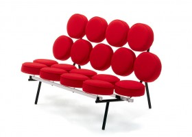 4-red sofa