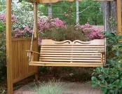 A variety of swing for the garden
