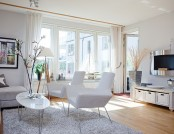 Bright apartment with a view of the Baltic Sea