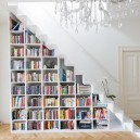 1-shelving in the stairs