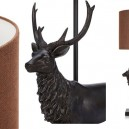 3-lamp with a deer
