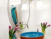 Bright interior design apartment