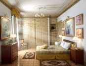 Bedroom in classical style