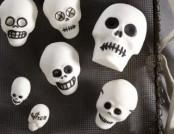 The interior Skulls for Halloween