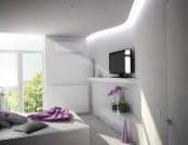 Bright and green interior from Ukrainian designer
